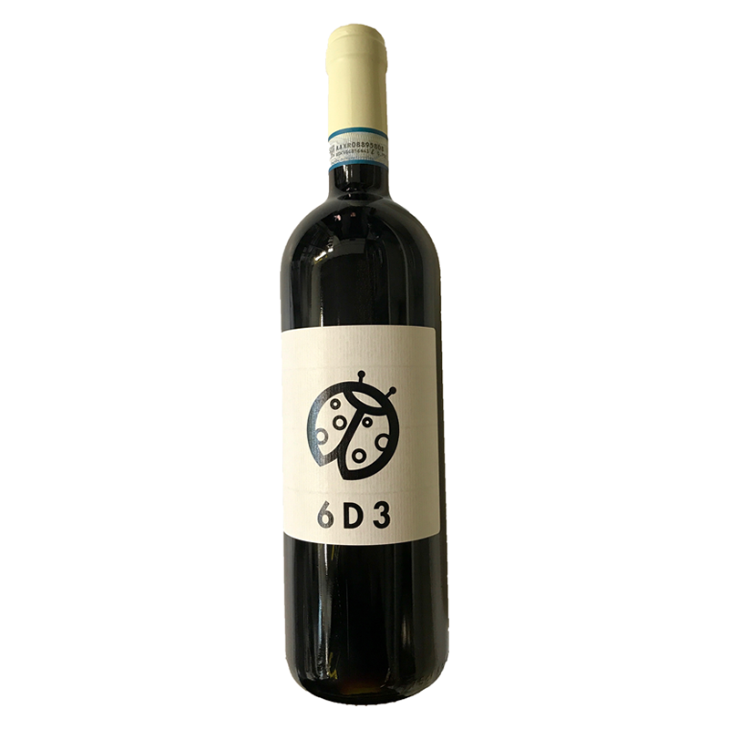 """2016 Monferrato Rosso """"6D3"""""""